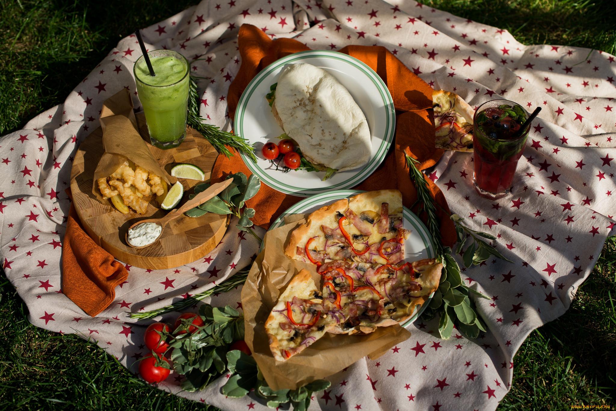 еда для пикника на природе фото растения продолговатые, красного